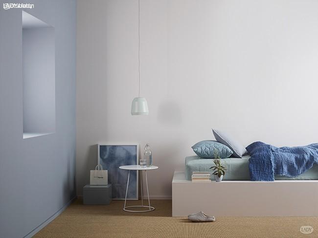 Blåtoner - nyanser av blått - LADY inspirationsblogg