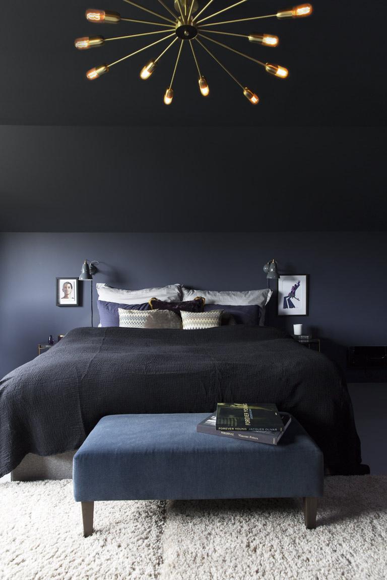 Sovrum i färgen 4143 Anemon