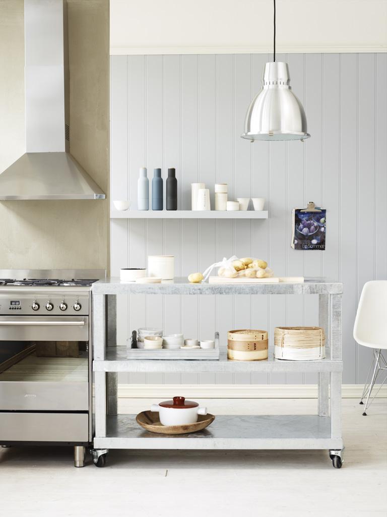 Panel i köket