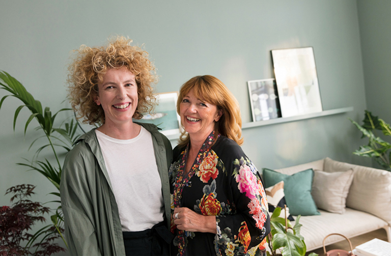 Global kulörchef i Jotun Lisbeth Larsen och stylisten Jannicke Krakvik