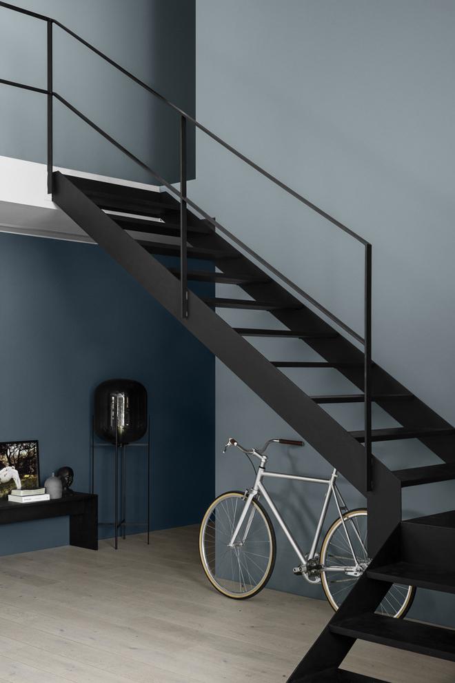 Ny färgkarta med färgerna LADY 5455 Industrial Blue och 5044 Blåis