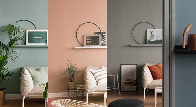 En lägenhet – tre stilar