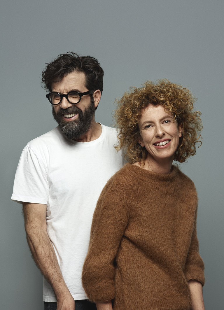 Jannicke Kråkvik och Alessandro D'Orazio