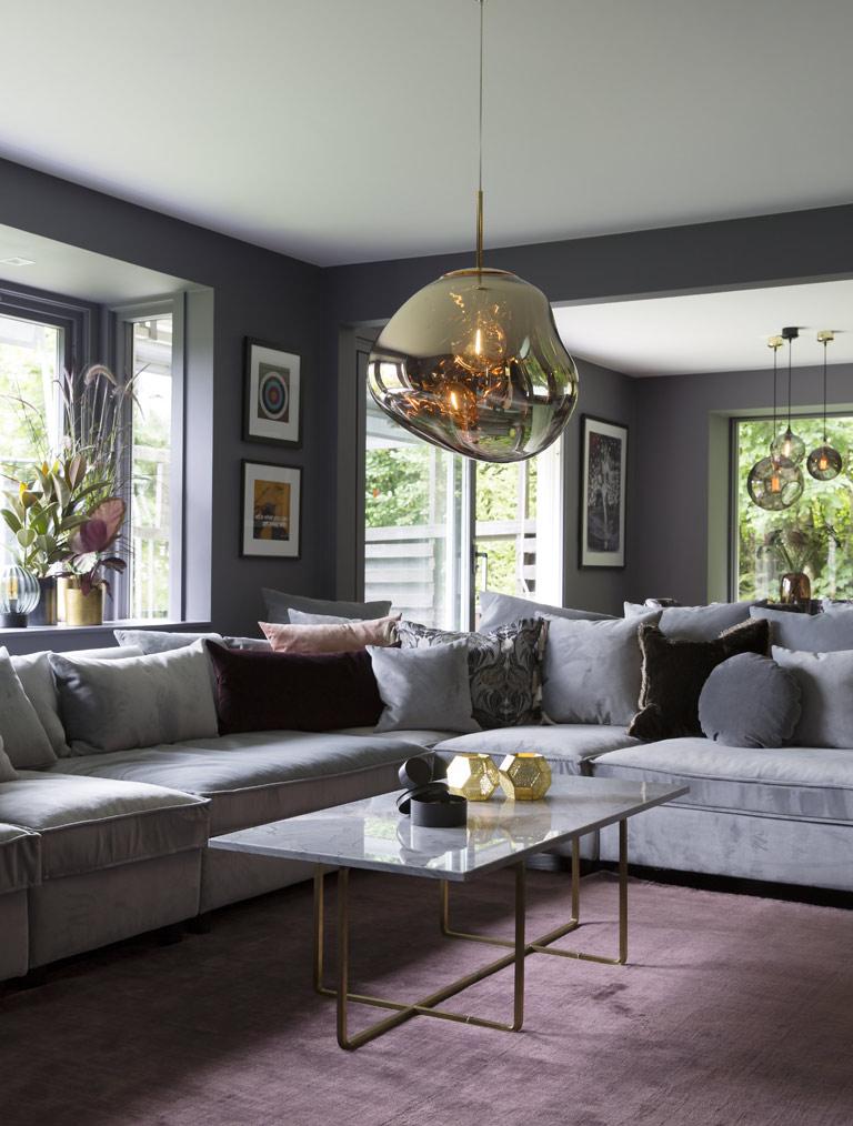 Ett hem med värme och praktfulla detaljer