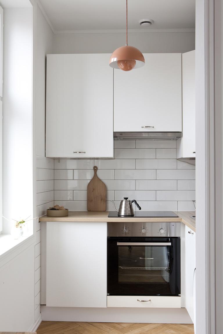 Köket i vitt