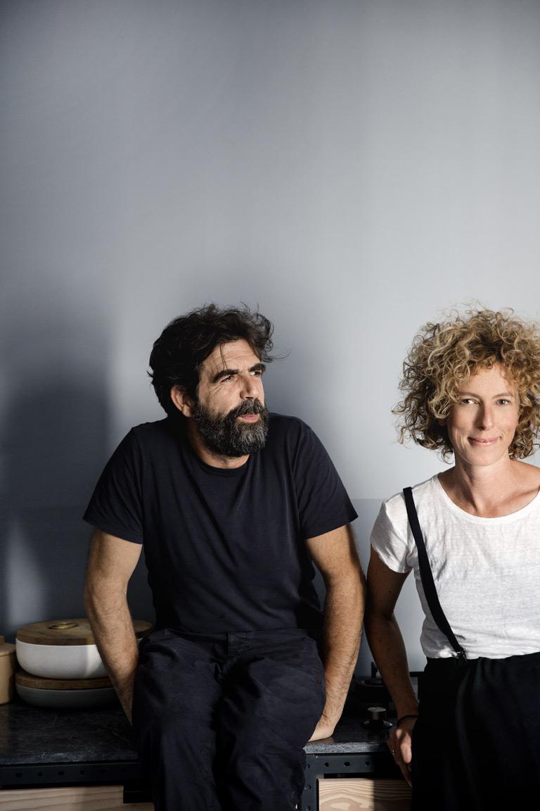 Jannicke Kråkvik och Alessandro D'Orazzio
