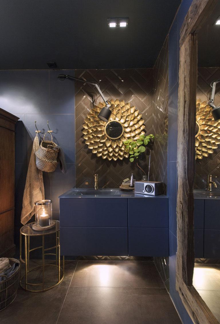 Modena badrum med Jotun färger