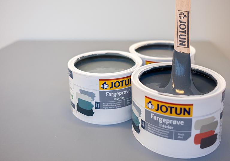 Jotun Färgprov interiör