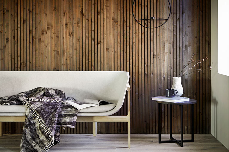 Skapa en smal panelvägg