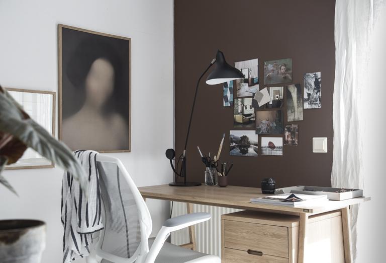 My Scandinavian home – makeover av hemmakontor