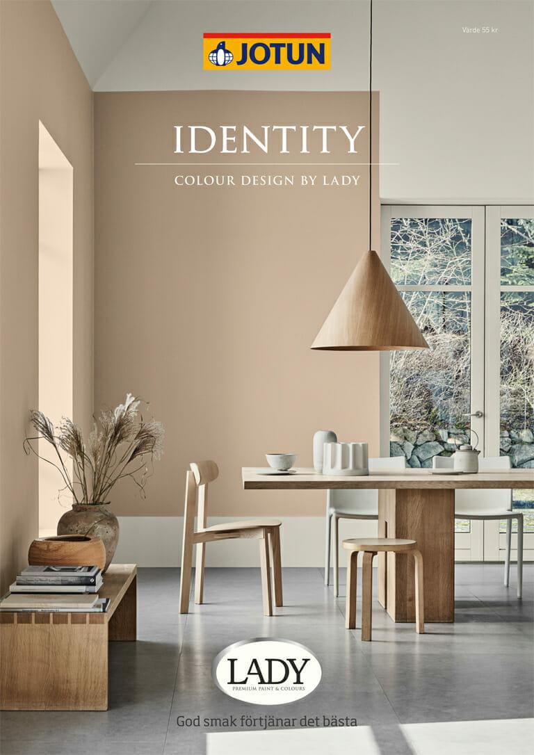 LADY Indentity färgkarta – styling av bilder