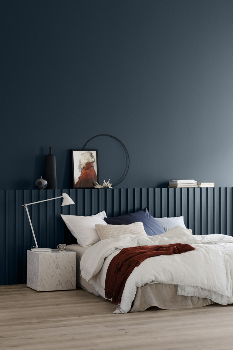 LADY Pure Color5455 Industrial Blue
