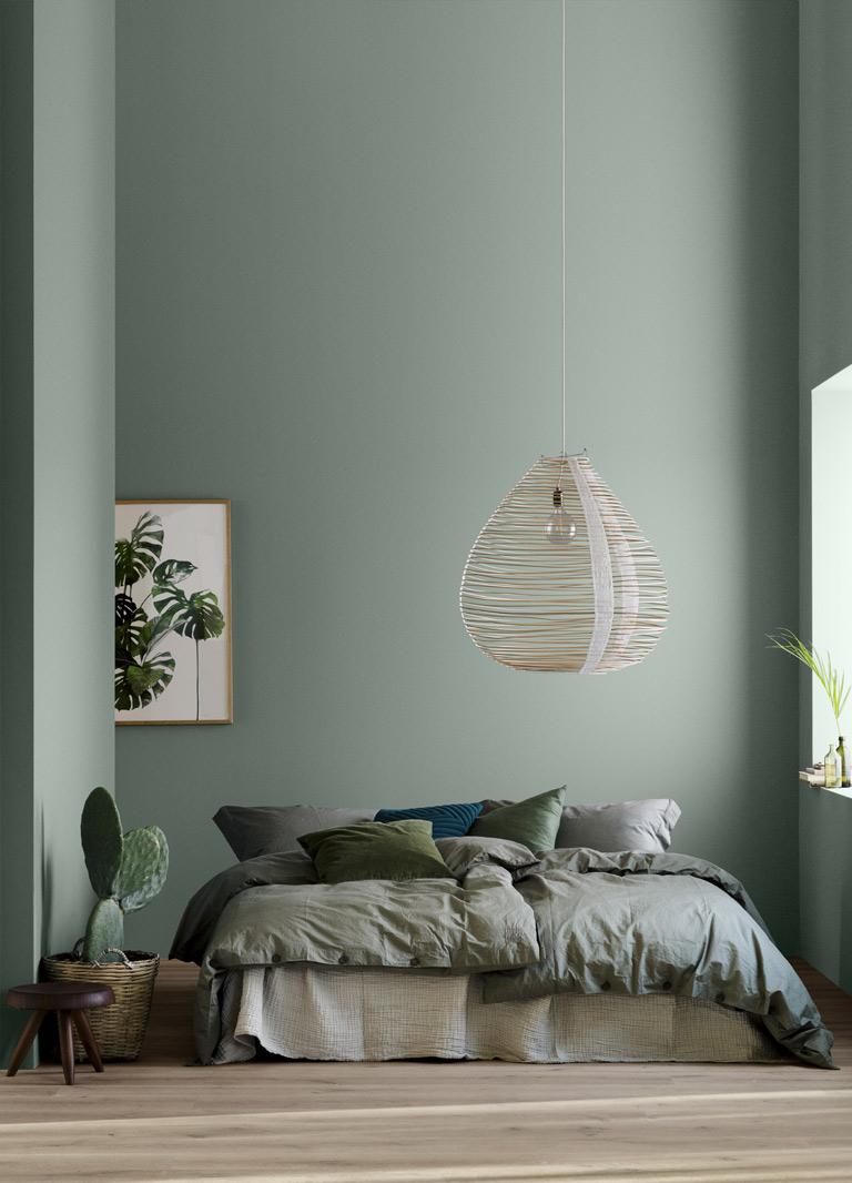 Fina färger till sovrummet