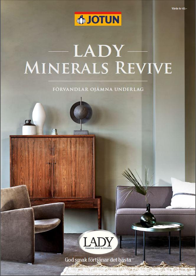 LADY Minerals Revive färgkarta