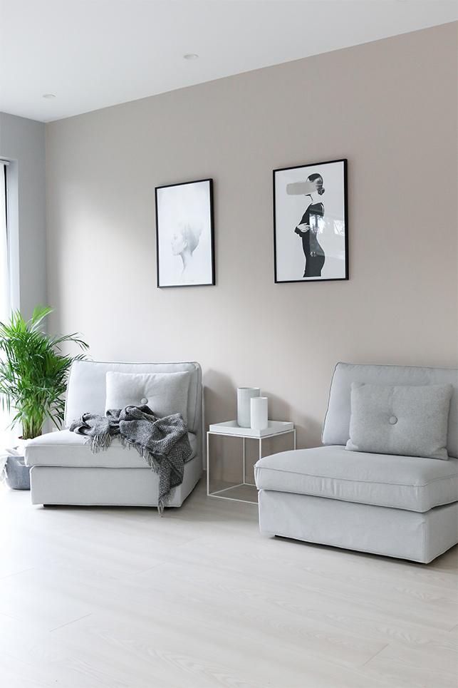 Nytt hus med personliga färger