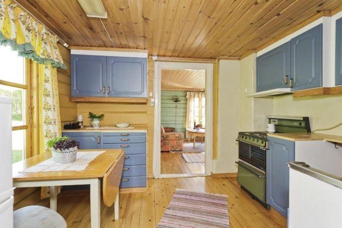 Innan renovering sommarhus kök