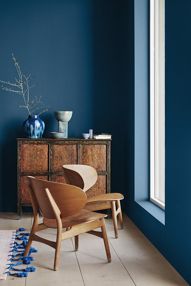 Statement Blue – en blå färg full av energi!