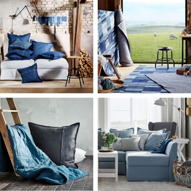 IKEA blå stugpalett