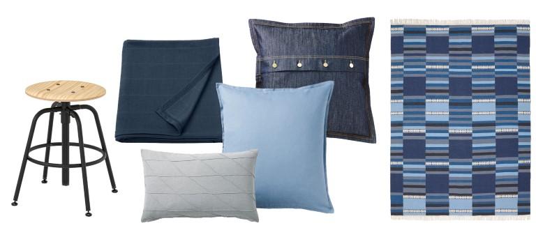 IKEA stugpalett blå