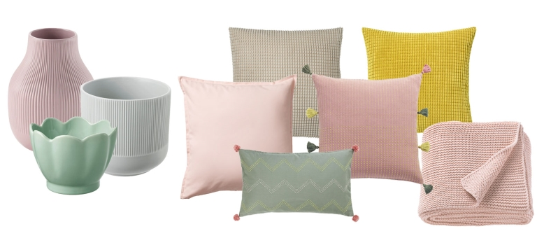 IKEA rosa stugpalett