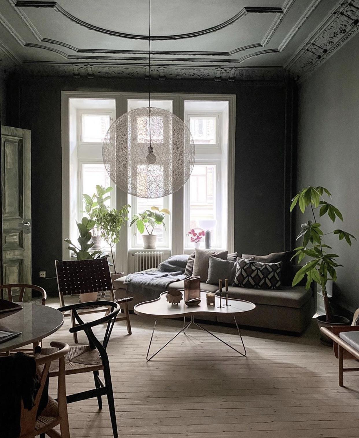 Hemma hos Sofie Izard Höyer är det grönt och skönt