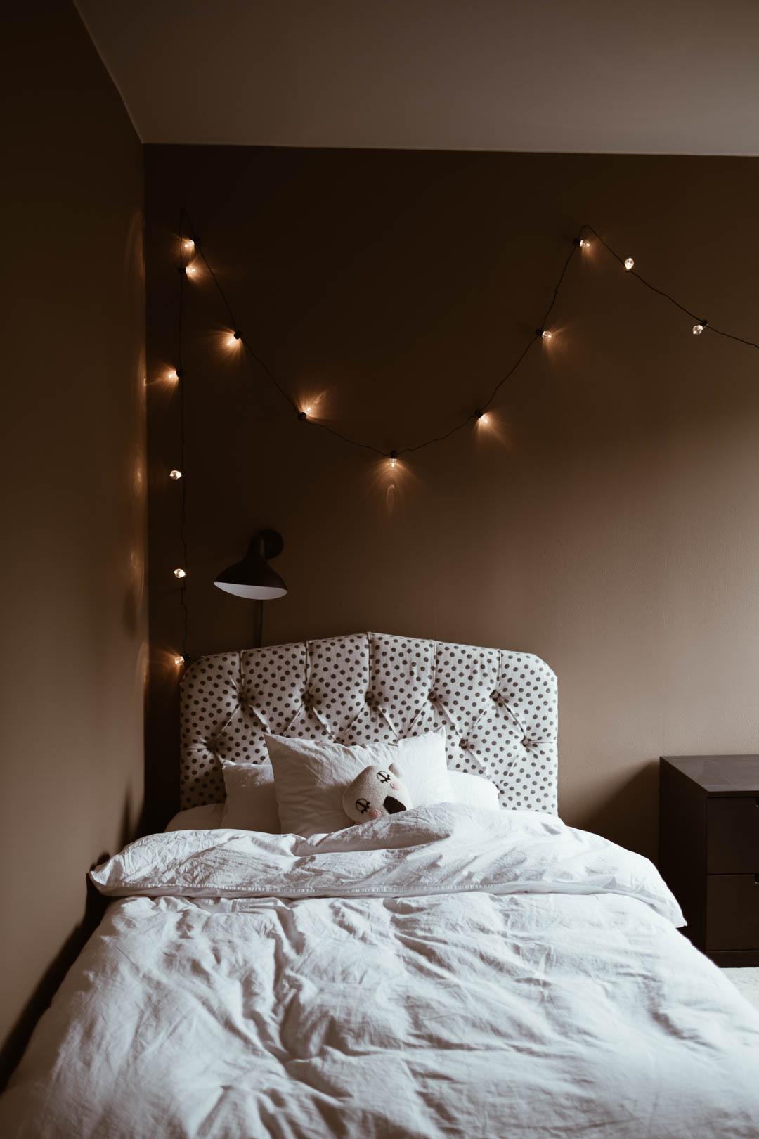 Ditte Svanfeldts varma och ombonade sovrum