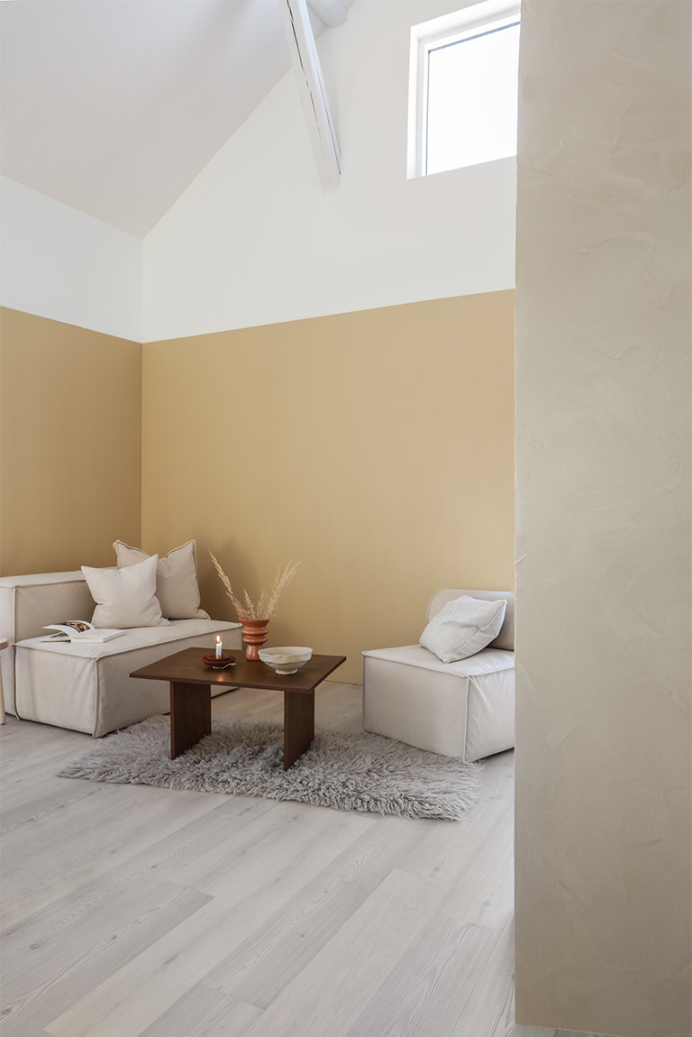 Avslappnande loungeavdelning