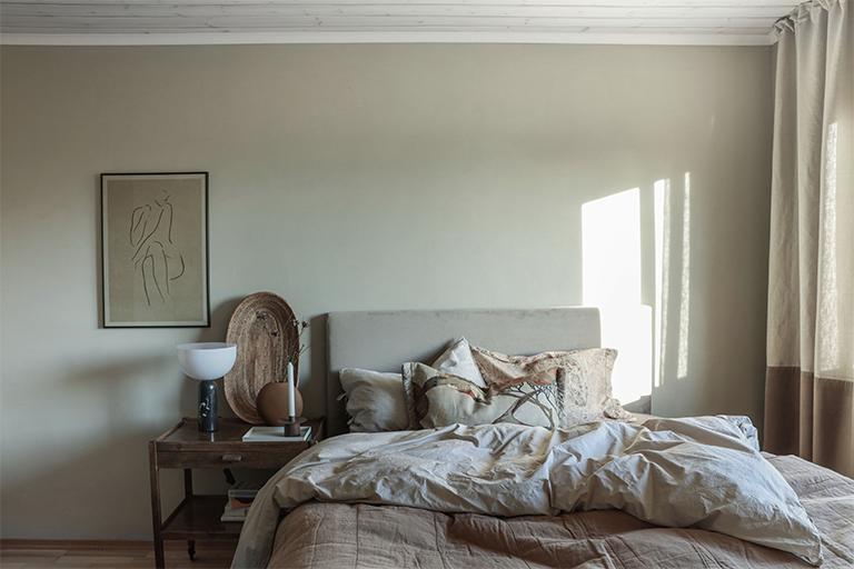 Förvandling av sovrummet