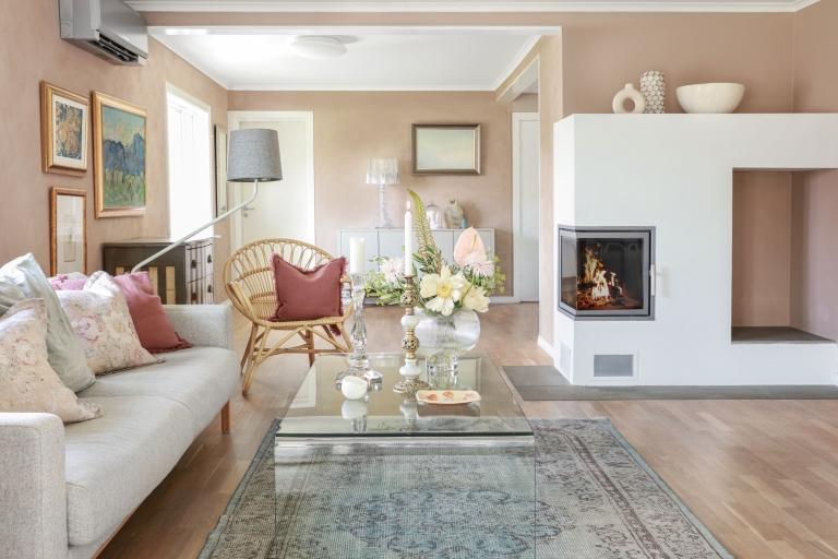Skapa en sensommarstämning hemma med Desert Pink
